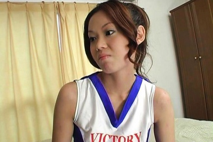 Kaoru Mugi Sweet Asian teen is sexy