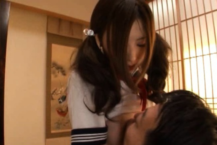 Teen Schoolgirl Rune Tsukishiro Fucked In Her Uniform