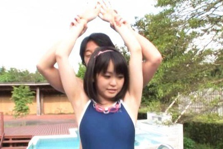 Swimsuit hottie Kurumi Tachibana gets some insane doggystyle