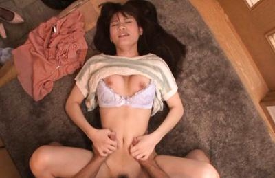 Ai Nikaidou Asian chick gets pussy fingered