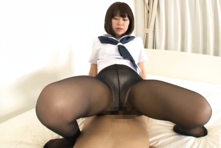 Horny schoolgirl Mizuki Kiriya enjoys hardcore