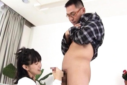 Hot wife Nana Nanaumi sucks cock and enjoys good sex