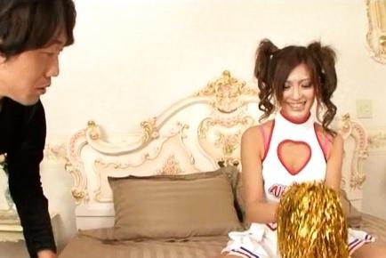 Lovely Asada banged in kinky costume
