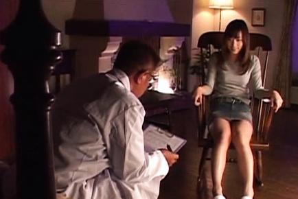 Busty Japanese AV model is a teen seduced in having sex on cam