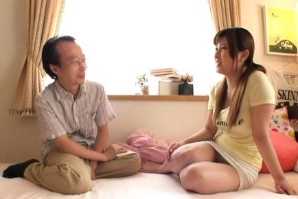 Orihara Honoka  gets a creamed pussy
